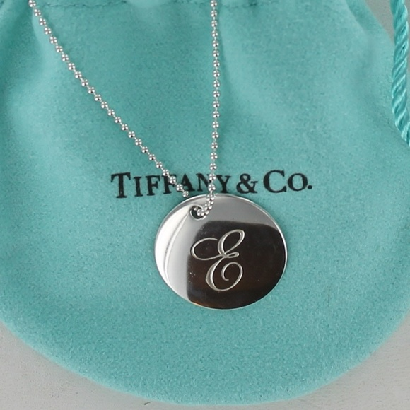 bf785f5ab Tiffany Notes Letter E Alphabet Disc Bead Necklace.  M_5a9ca617739d485056c13280. Other Jewelry ...